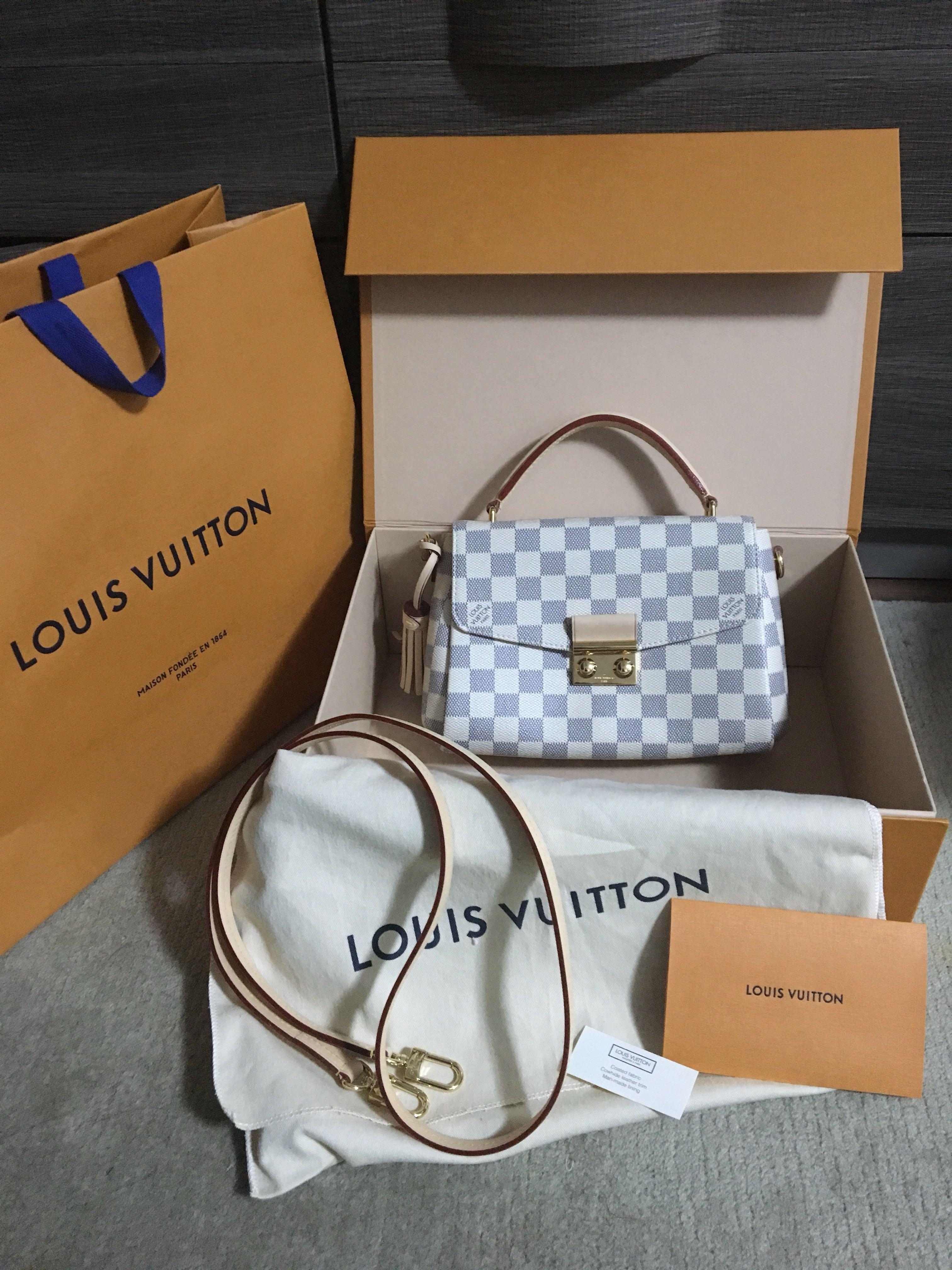 Louis Vuitton CROISETTE Damier Azur - New Rm5900 (Retail in Malaysia Rm7000)
