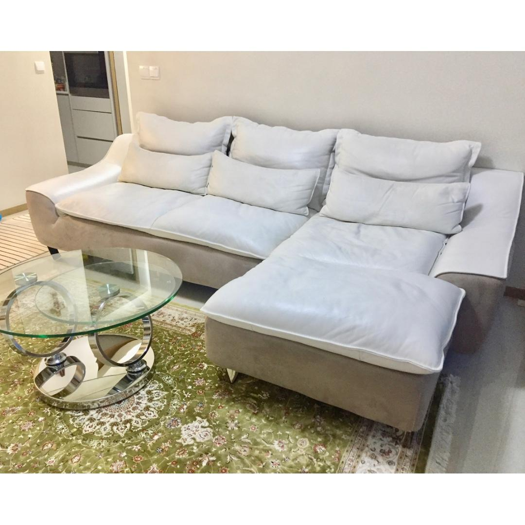 Luxury Sofa German Designer Retails At 6 999 Now 1 499 Furniture Sofas On Carousell