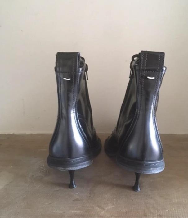 Maison Martin Margiela Black Ankle Boots, Size 38.5/8