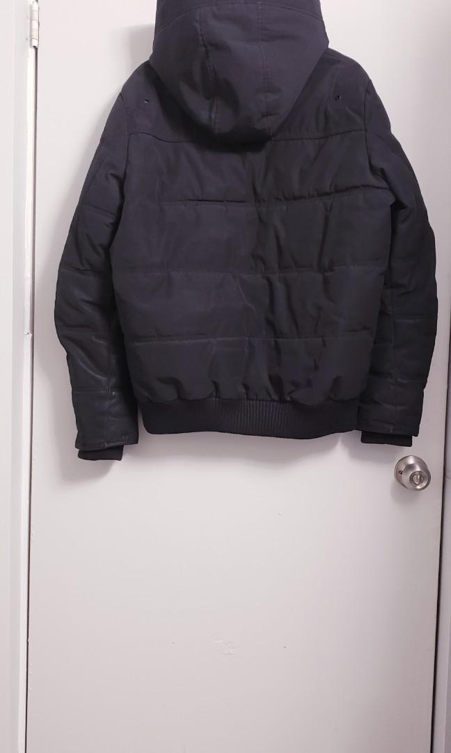 Men's GUESS Duke Puffer Winter Jacket Size M (Water resistant)