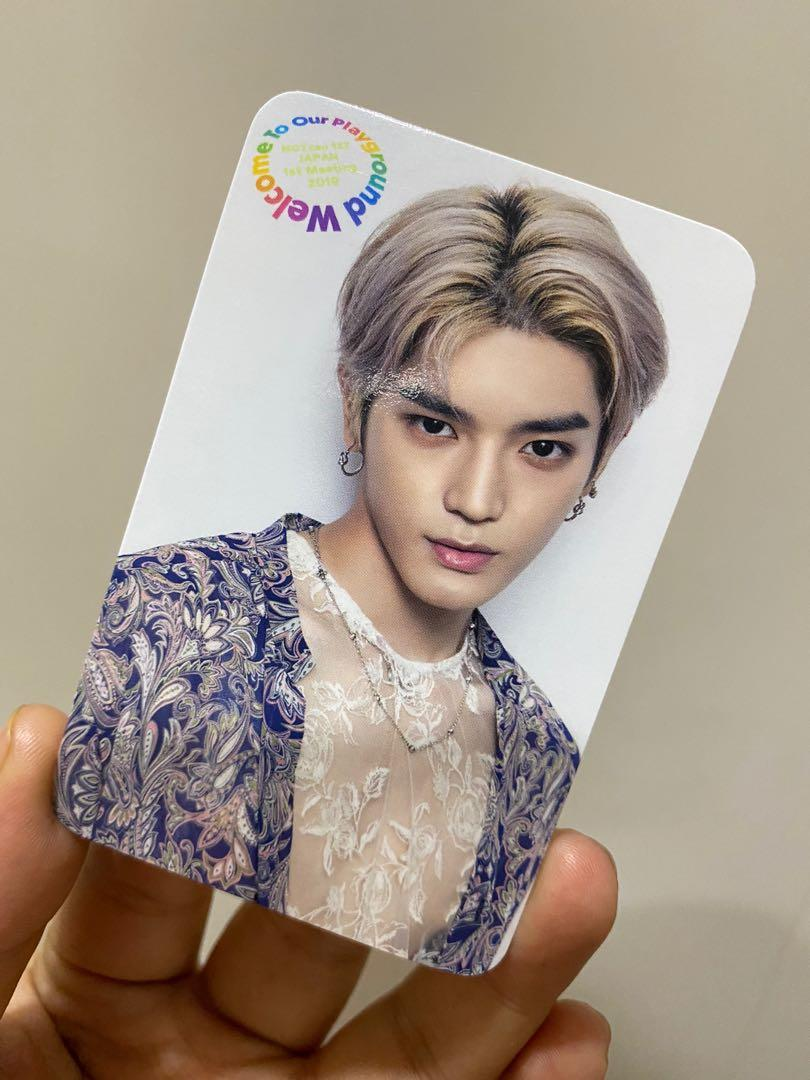 NCT127 - TAEYONG Welcome To Our Playground Photocard
