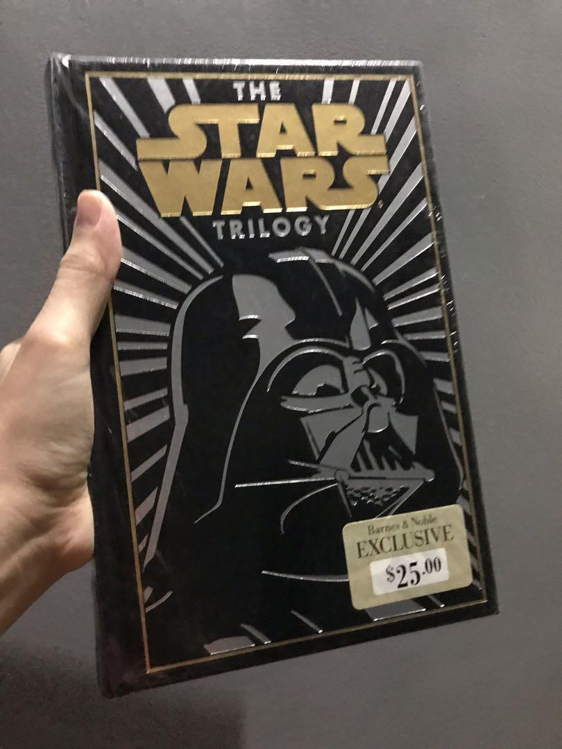 New STAR WARS Trilogy Exclusive Barnes & Noble Collectible Edition) HardCover Leather Bonded