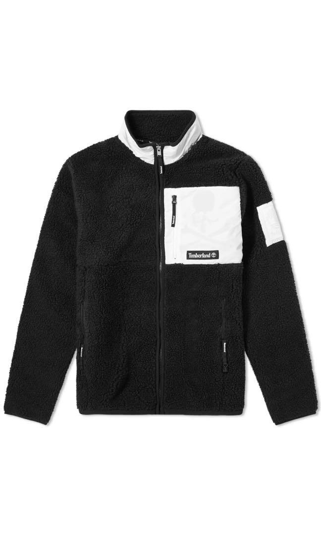 New Timberland X MMW fleece size M Black