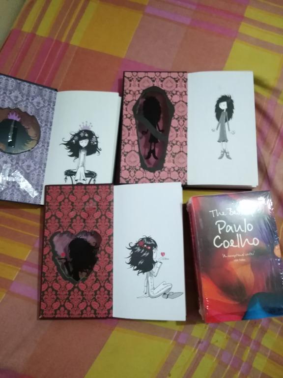 Paulo Coelho boxed set + Hardbound Edition of ghostgirl Series