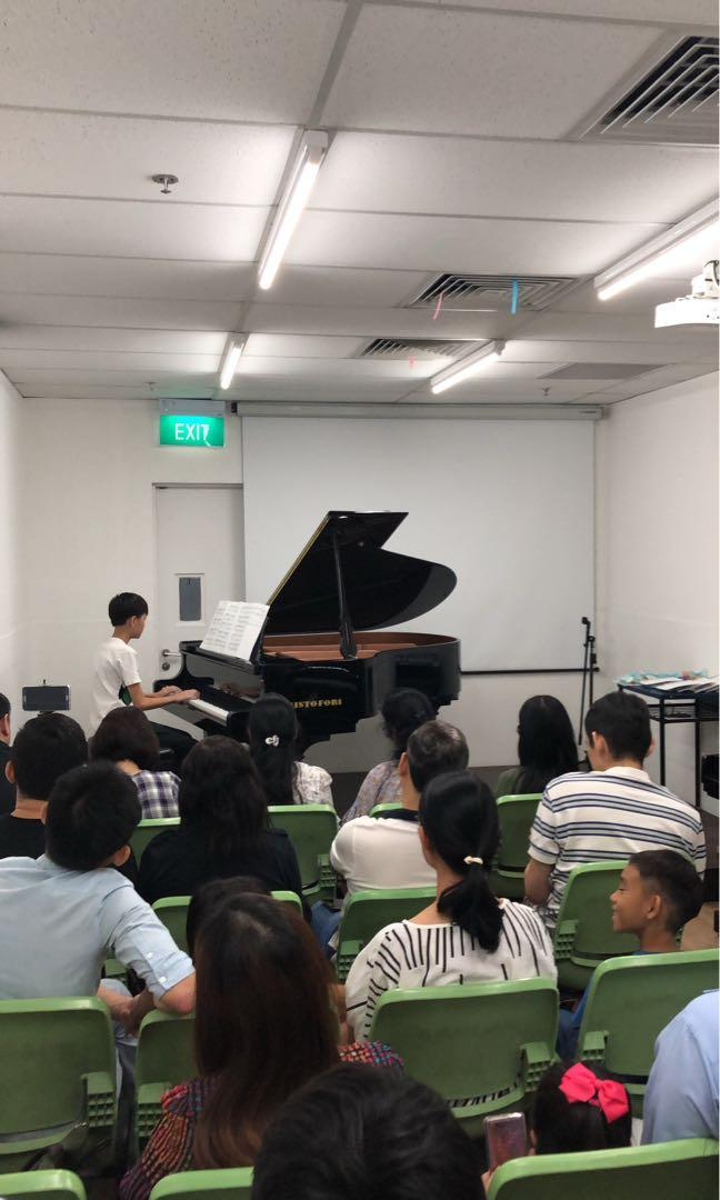 Piano and Theory Lessons in East and Central area.