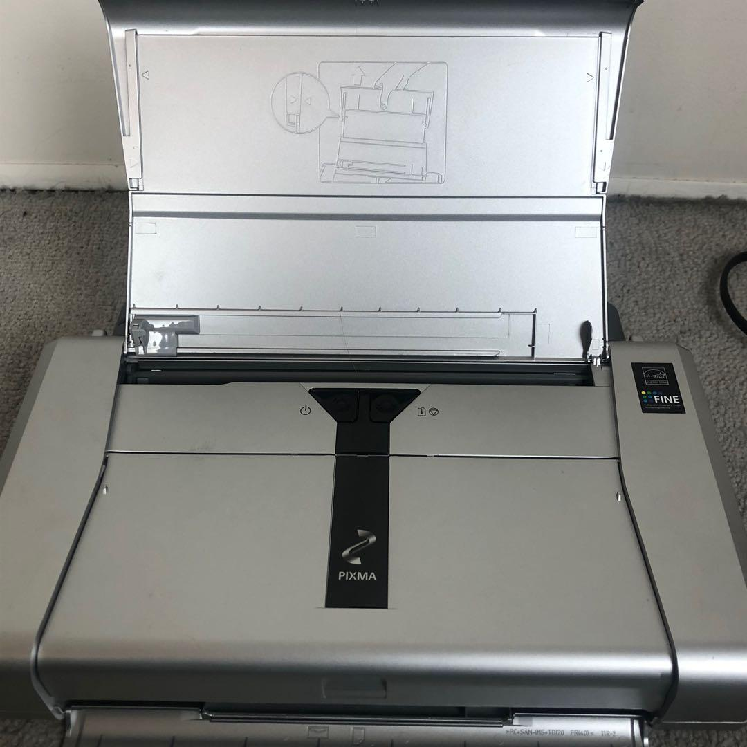 Portable Inkjet Color Printer Canon Pixma iP-100 Ink Jet Colored