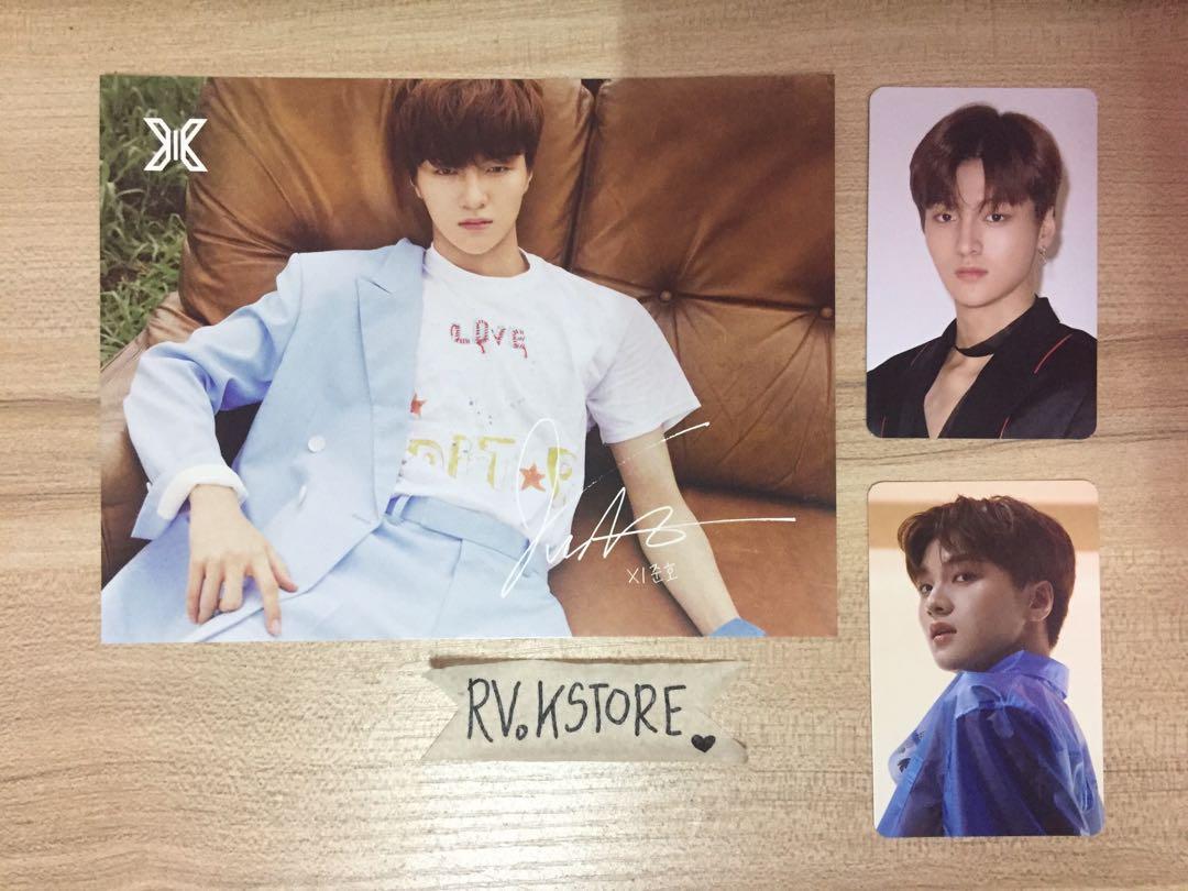 [FREE POSTAGE] X1 Cha Junho Show Con Set Postcard & Photocard