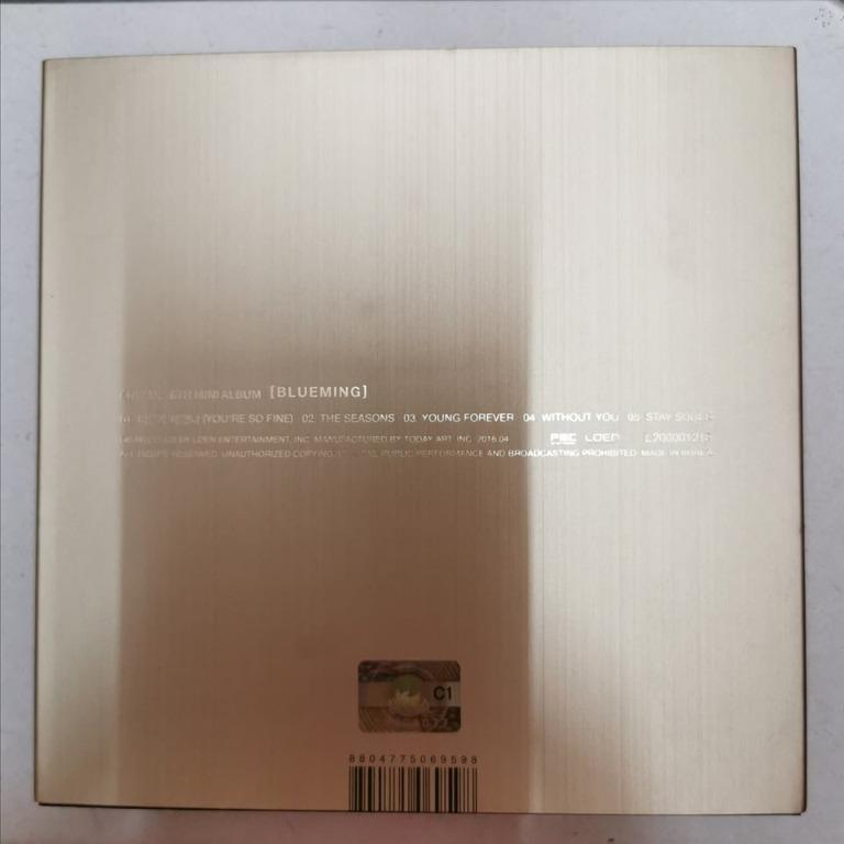 [READY STOCK] CNBLUE - Blueming (6th Mini Album) Full Members Signature CD