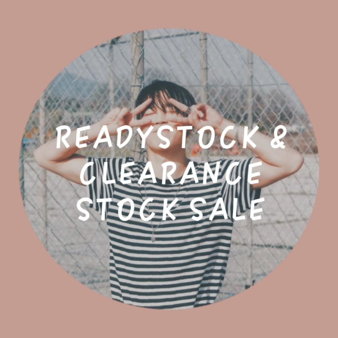 READYSTOCK / CLEARANCE STOCK SALE