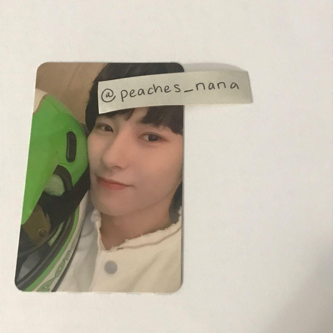 renjun we boom (boom ver) photocard [up for trade only]