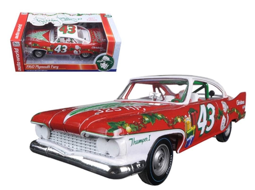 Richard Petty 1960 Plymouth Fury Christmas Limited Edition