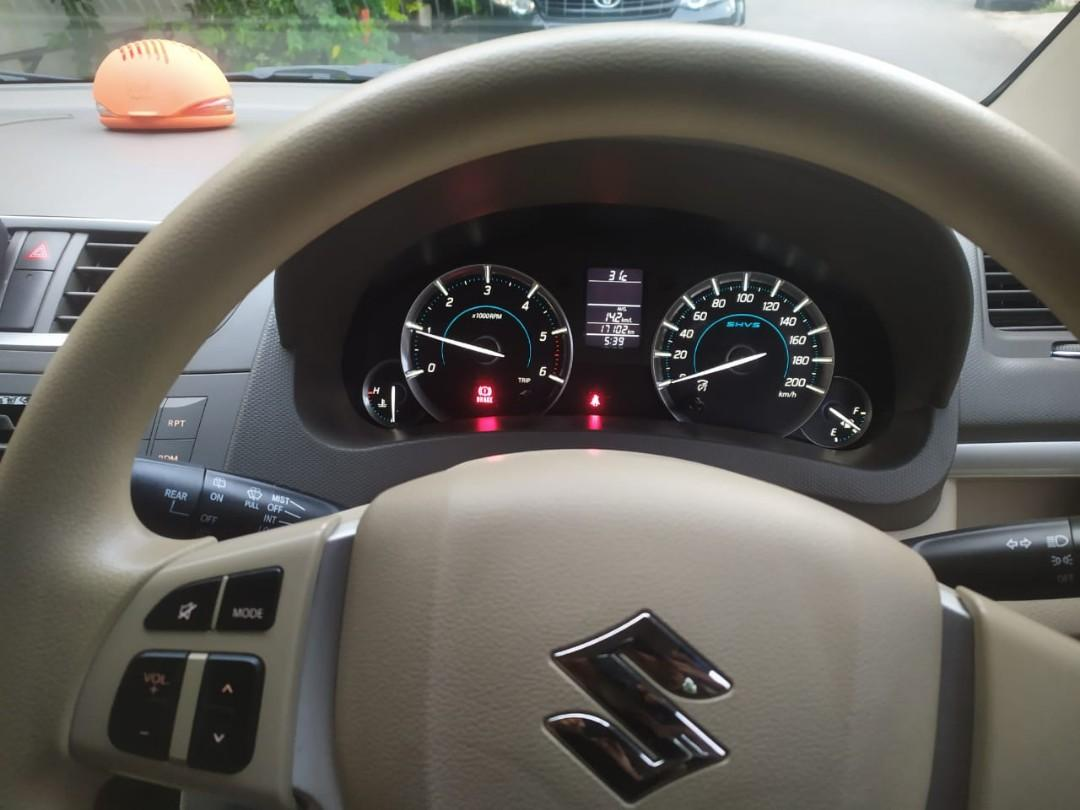 Suzuki Ertiga Diesel Hybrid 1.2Turbo 2017 MT..Langka Special Condition