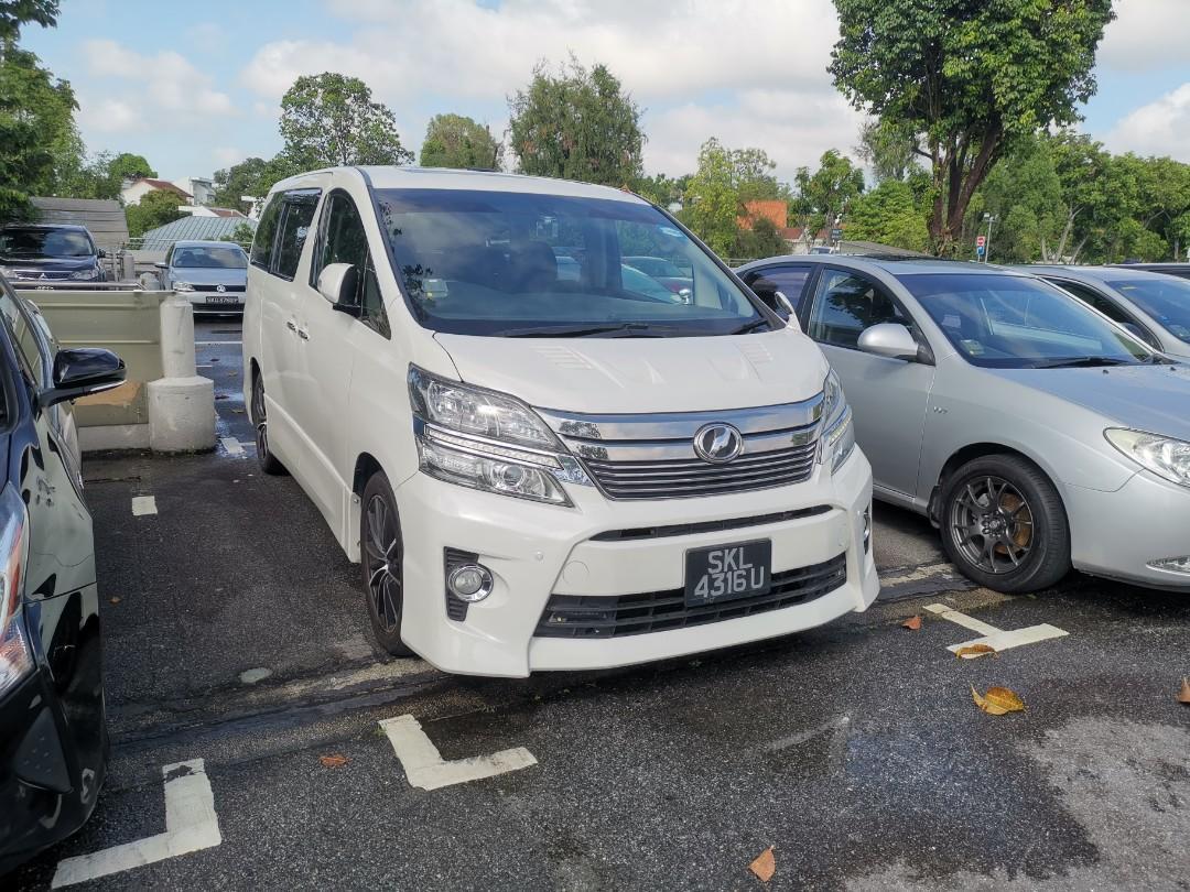 Toyota Vellfire High Spec