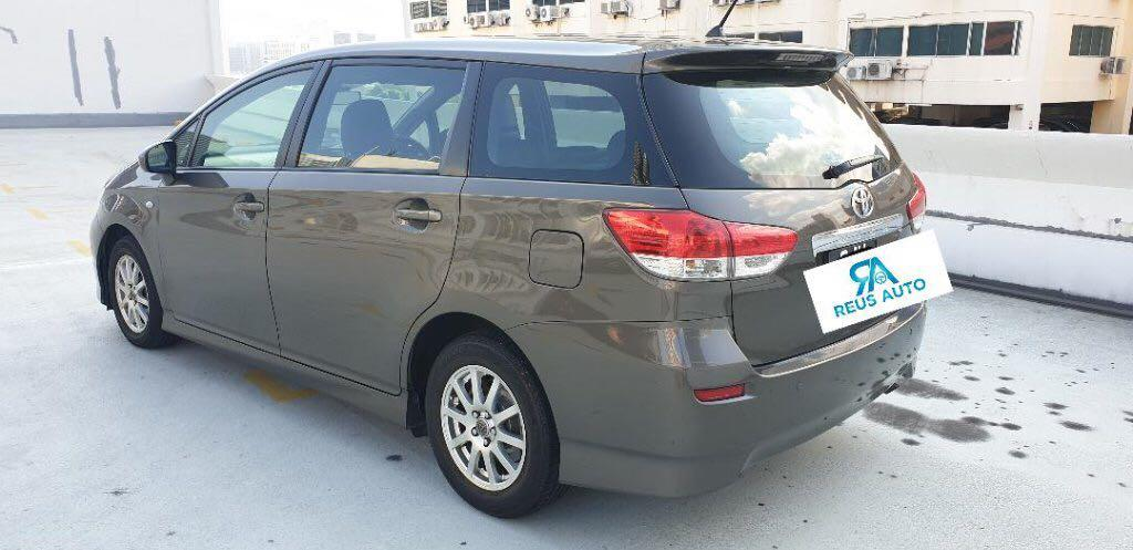 Toyota Wish Auto for Long Term Rental