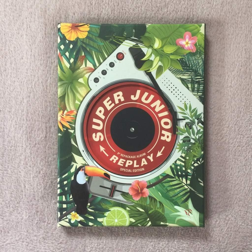 (WTB) SUPER JUNIOR - Replay (Special Edition) album | unsealed