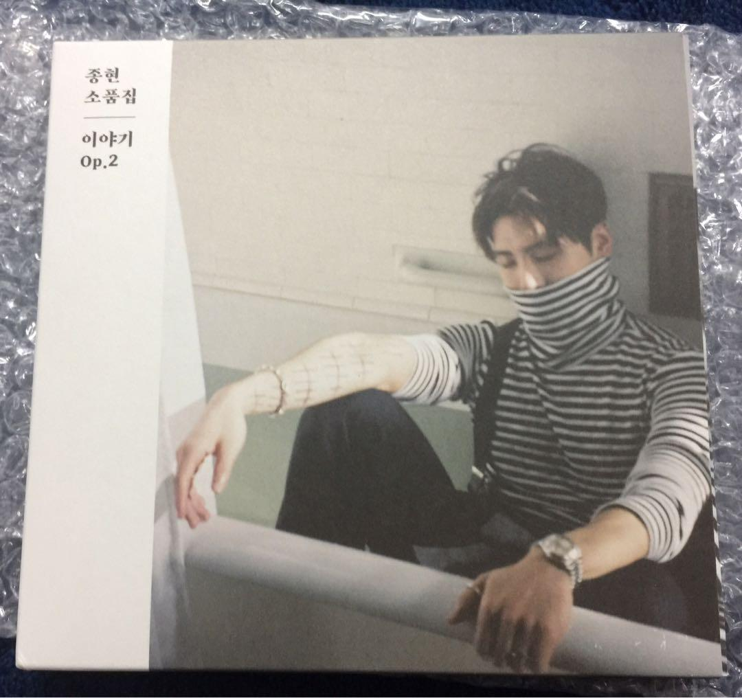 [WTS] Jonghyun Story Op. 2 Album Photo version (unsealed)