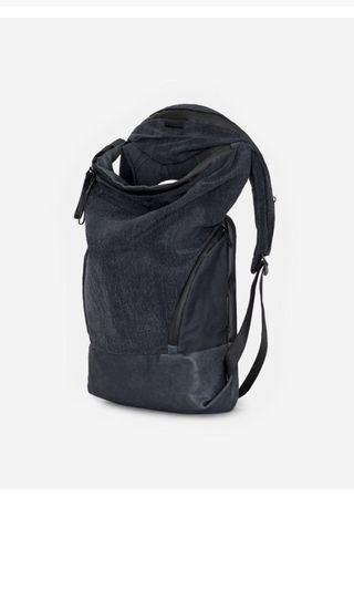 【Cote&Ciel】Charcoal Grey 和OBSIDIAN BLACK 防水布後背包 兩種顏色全新