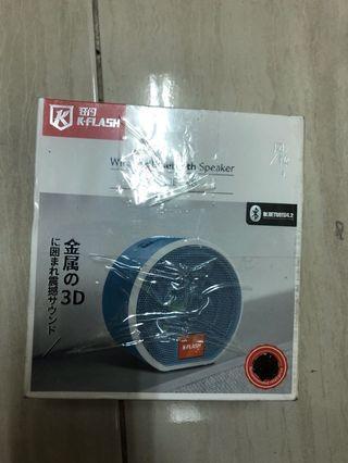 正版,狂閃 K-FLASH  金屬 無線藍芽喇叭 Hi-Fi高音質 超重低音藍芽音箱
