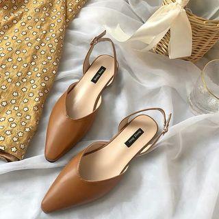 復古瑪麗淺口鞋
