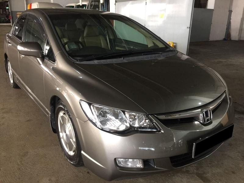 06/12/19-09/12/19 FRI-MON HONDA CIVIC 1.8A $210 (P PLATE WELCOME)
