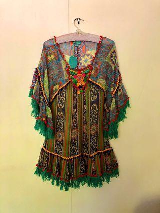 Boho Summer Dress from Italy