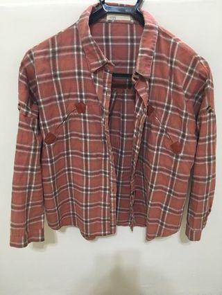 NET格子襯衫*2