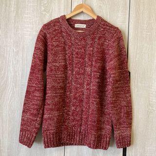 [二手]男生麻花針織毛衣
