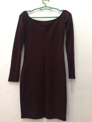 Off sholder Dress