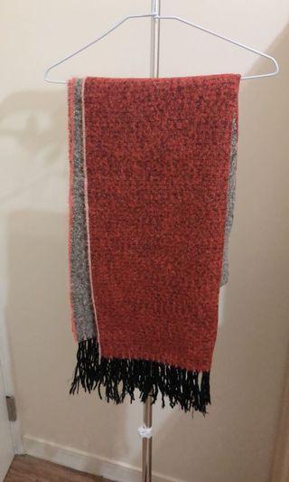 雙面柔軟圍巾