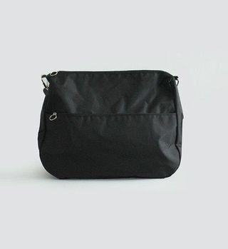 基本款 黑色 尼龍 防水 側背包 斜背包