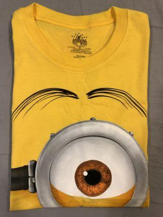 全新!環球小小兵T-shirt /Universal minions
