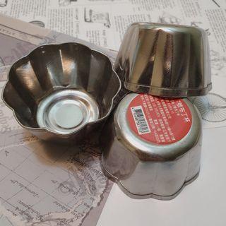 不鏽鋼 7號 布丁杯 3入