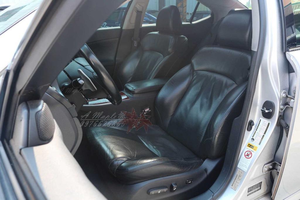 2007年 LEXUS IS250 黑內裝 改裝 F-sport大包 19吋鋁圈 精品/粉專→A Maple橙奕(非ES GS is300 is200 2JZ