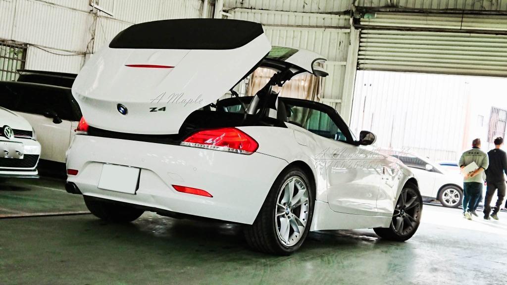 2010年 E89 Z4 雙門 硬頂敞篷 稀有 3.0NA引擎/粉專→A Maple橙奕(非SLK MX5 86 野馬 CIC TT