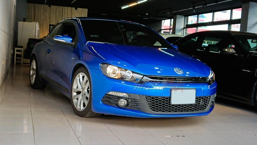2011 VOLKSWAGEN Scirocco 1.4 雙增壓 稀有藍色 快撥版/粉專→A Maple橙奕(非AUDI A3 S3 GOLF GTI
