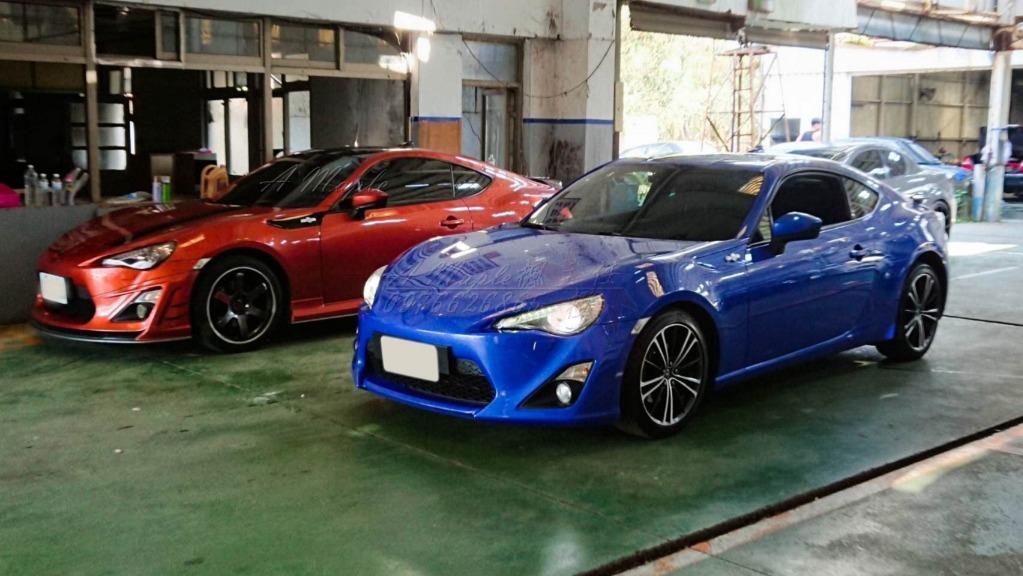 2012 TOYOTA GT86 利曼藍色 改裝 TEIN避震/粉專→A Maple橙奕(非BRZ FRS MX5 335 428 C250