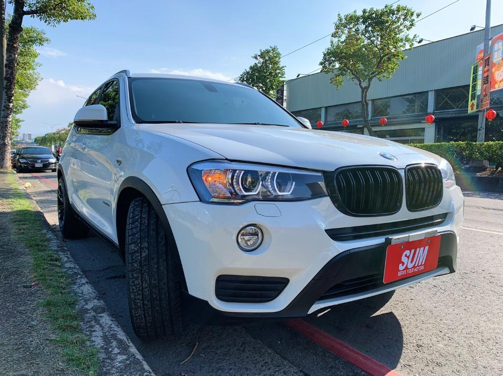 正2014年出廠15年式 新款一手車頂級 BMW X3 XDrive28i 領航版