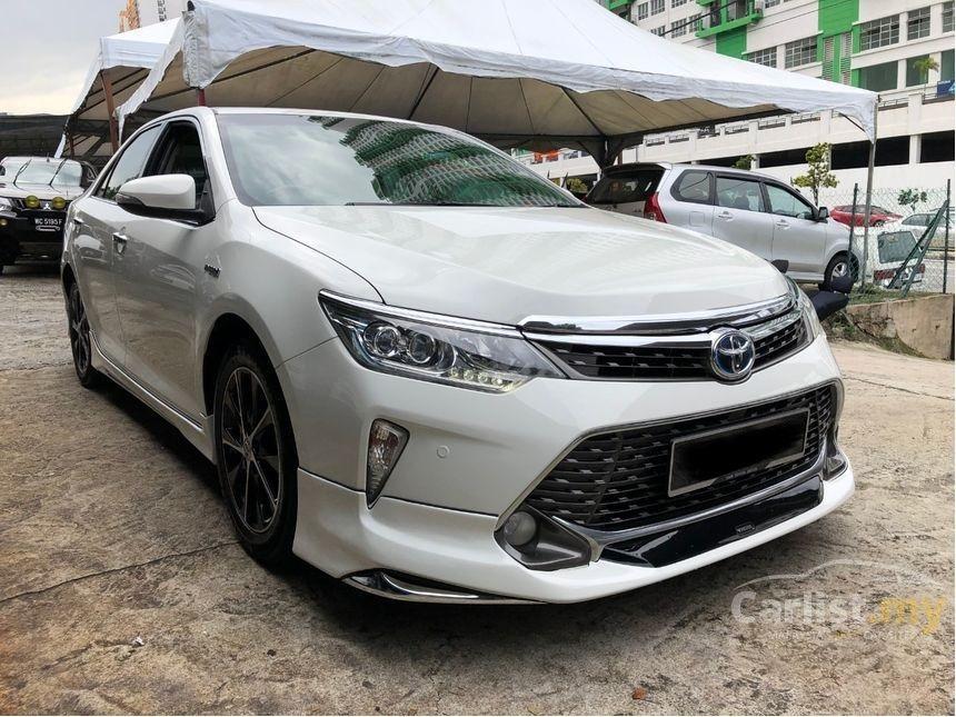 2015 Toyota Camry 2.5 Hybrid Extended Warranty Till Nov 2020 Modellista Bodykit One Owner