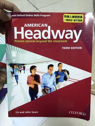 初級英文課本 Headway