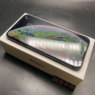 iPhone XS Max 64g黑色全新官換機電池100%保固至2020/3/12盒裝附充電器換貼優先版本12.4.1