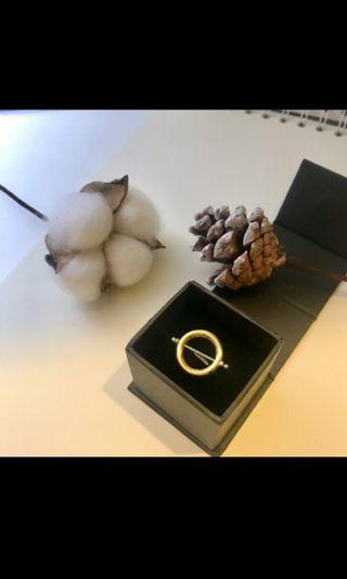 Charles keith專櫃購入小ck戒指