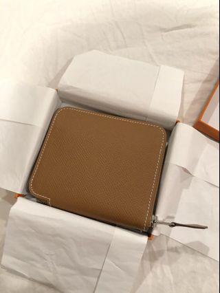 Hermès 絲巾短夾