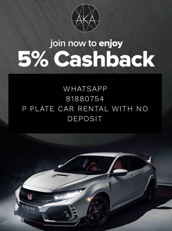 81880754 p plate car rental no deposit