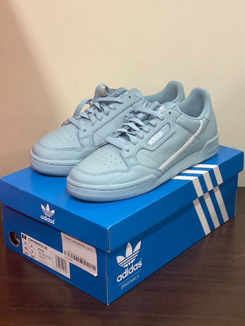 Adidas Continental 80 - Light Blue
