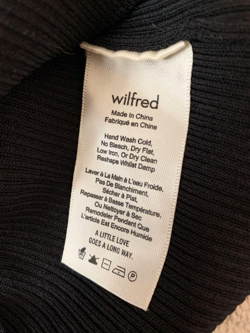 Aritzia x Wilfred Off the Shoulder Long Sleeve Top - XS