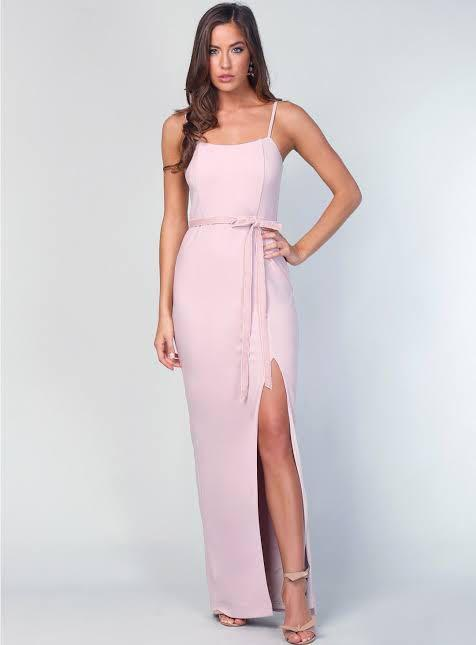 Samantha Rose Blush Pink Formal Dress in style Prince