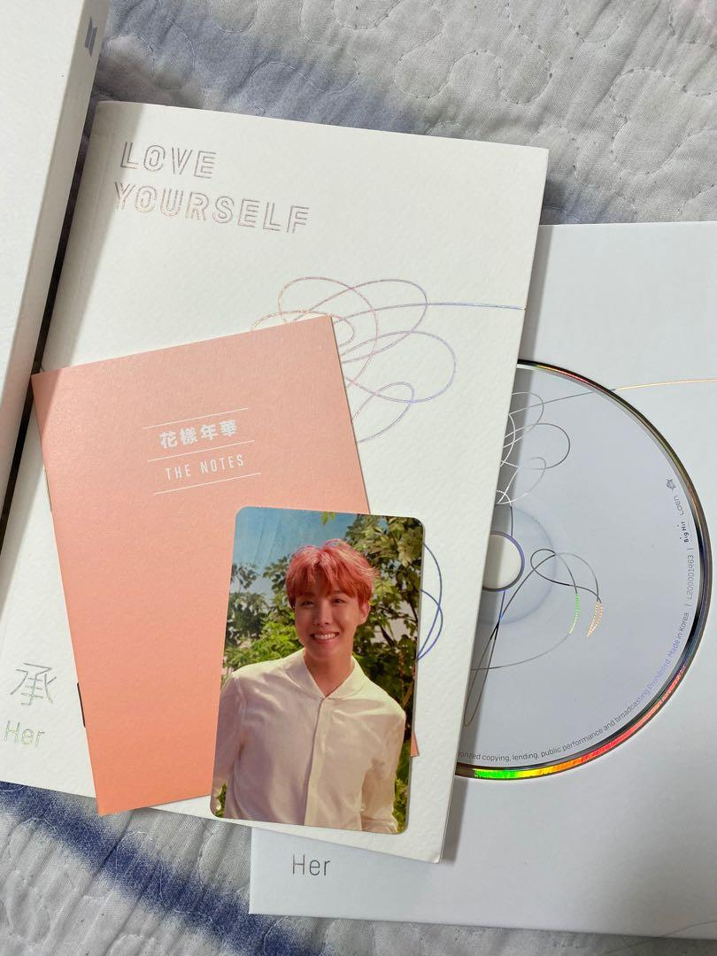 [ALBUM] BTS LOVE YOURSELF HER 'O' VERSION FULL SET