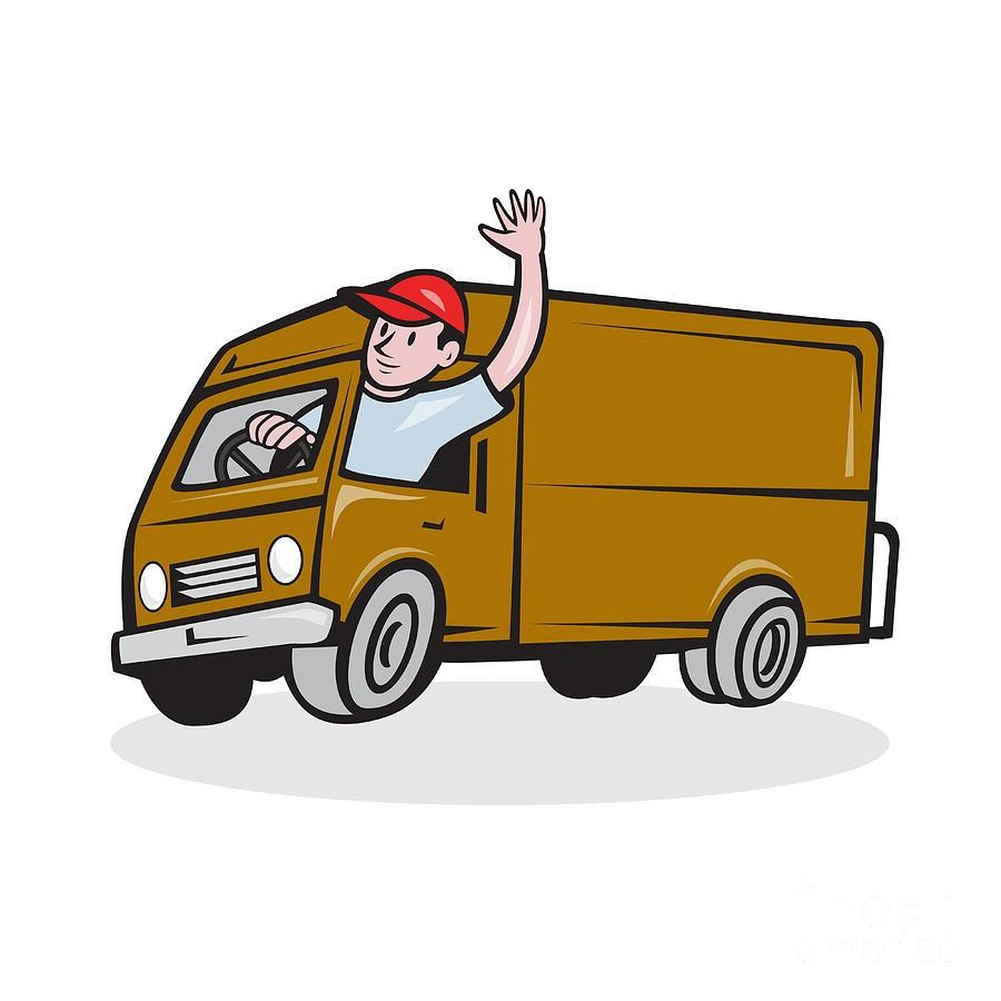 Class 3 delivery driver