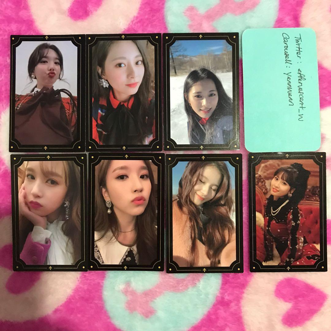[CLEARANCE] Twice The Year Of Yes TYOY Official Photocards