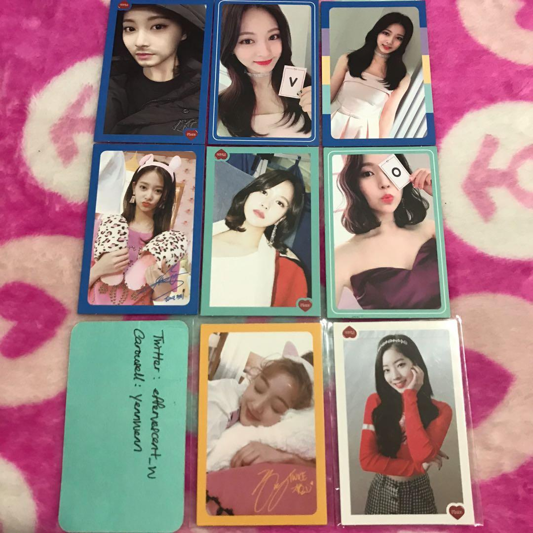 [CLEARANCE] Twice What Is Love Official Photocards